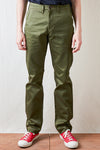 BiG02Z Original Slim Chino Trouser - Olive