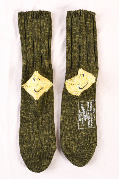 56 Yarns MA-1 Heel Smilie Socks in Three Colorways
