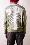 5G Cotton Knit BONE Crew Sweater - Khaki