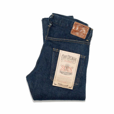 ONI-615ZR-S-HANZO 20oz Low Tension Stretch Secret Denim Skinny Fit