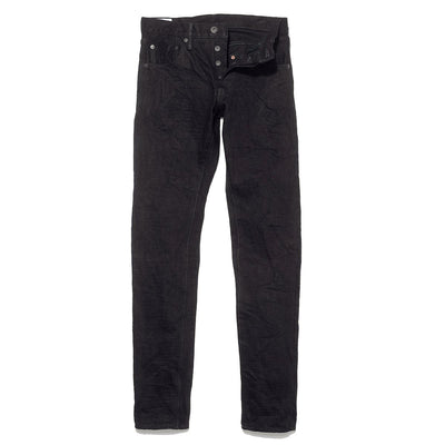 622ZR-AIZxBK 20oz Relax Tapered Aizumi x Black Secret Denim
