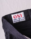 622ZR-BKBK 20oz Relax Tapered Secret Denim (Blue In Green Exclusive Version) - Black