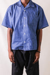 6oz Denim S/S Open Collar Shirt