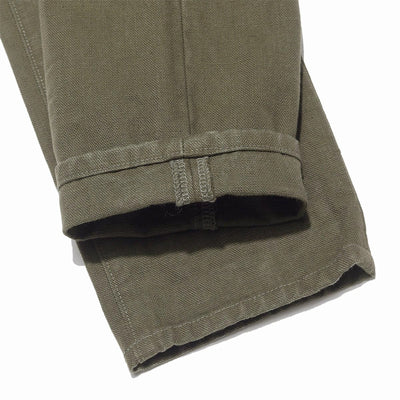 932HM-HOX-OLV - Hand Made Relaxed Tapered Heavy OX in Olive