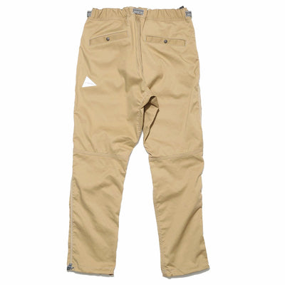Polyester Climbing Pants in Beige