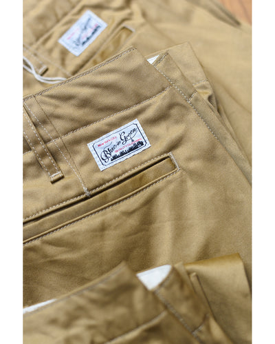 BiG02Z Original Slim Chino Trouser - Beige