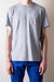 Base Pocket Tee - Grey Marl