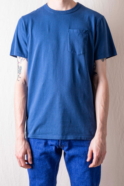 Base Pocket Tee - Navy