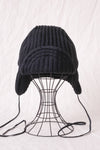 Bomber Cap W/A Knit - Black