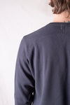 Combed Yarn High Tension Honeycomb Thermal Henley - Antique Black