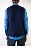 Crazy Gardener Vest - Wool Navy
