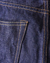 BiG-802N Original Natural Indigo Semi Tight Straight