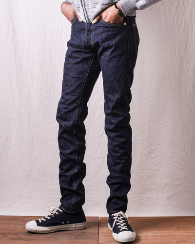 BiG-801N Original Natural Indigo High Rise Relax Tapered