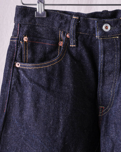 ONI-902KABUKI Vedge 22oz High Relax Tapered Natural Indigo