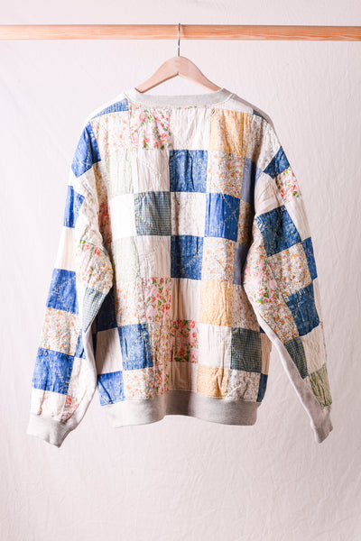 Fleecy Knit x American Quilt COUNTRY 2TONES BIG Sweat