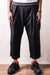 Combed Burberry Cotton EASY-BEACH-GO Pants - Black