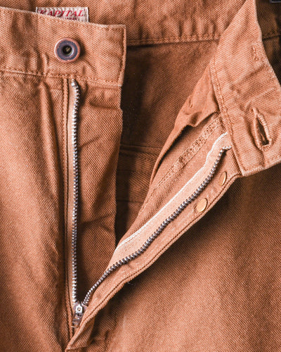Light Canvas RINGOMAN Cargo Pants - Gold