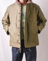 N-1 Deck Jacket in Olive (Exclusive Plain Edition)