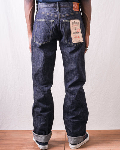 ONI-022NIXX 15.5oz Relax Straight Natural Indigo