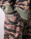 Fleecy Knit Camouflage Reversible Sweat Pants