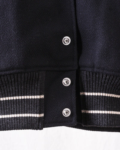 40's Wool I-FIVE Varsity Jacket - Black