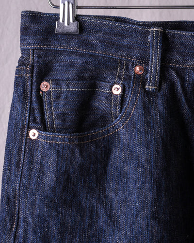 ONI-632oniKASE 16oz Natural Indigo Kabuki Relax Tapered