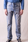 Demon KYOTO Mid-Rise Slim Fit - Light Wash