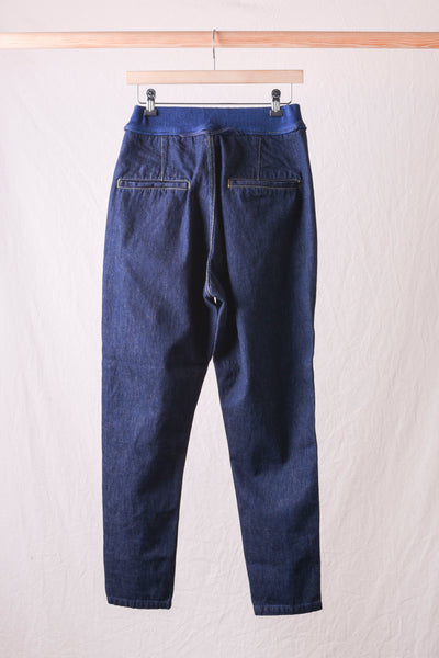 12oz Denim Sarouel Nouvelle Pants - One Wash