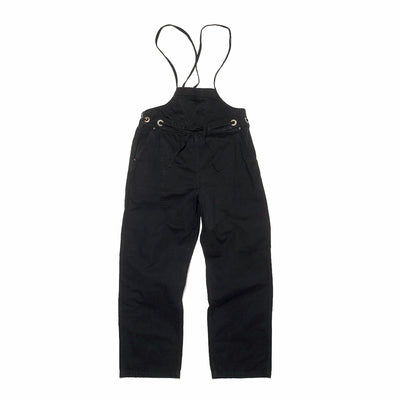 Womens Light Canvas WELDER Overall in Black