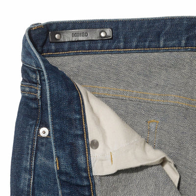 Slim Tapered STR 5 Pocket Used Wash