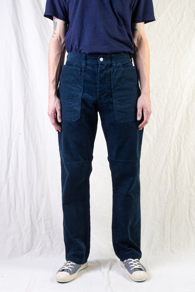 Fall Leaf Pants - Corduroy Navy