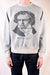 TOP Fleece Knit Raglan SWT (BEETHOVEN MOON LIGHT) - Grey