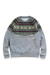 TOP Fleece x BIRD-EYE Fleece NORDIC SWT - Charcoal