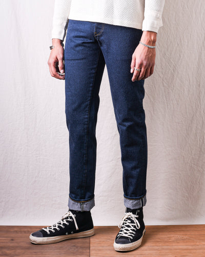 GD110 x BIG Slim Tapered In Classic Indigo (Blue In Green Exclusive Version)