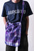 Grocery Bag Poly Heavyweight Mesh Print - Tie Dye
