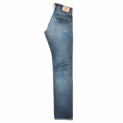 HD-013 14oz Hand Distressed Tapered Slim