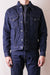 16oz Natural Indigo Jean Jacket with Side Pockets
