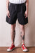 T/C Weather Cloth Water Repellent Training Shorts - Black