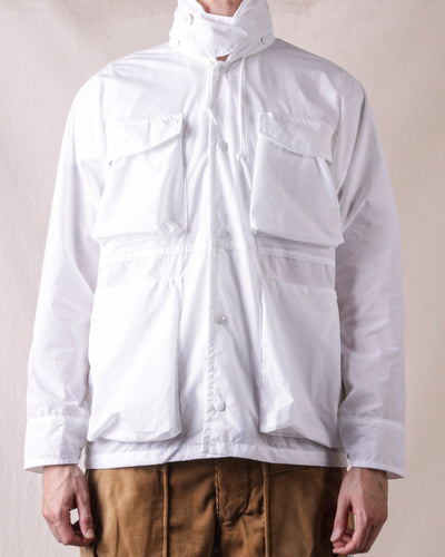 Digs Crew Jacket - White