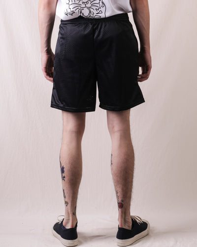 BIG Mesh Shorts With Pocket - Black