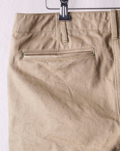 ONI-757-BRD British Drill Selvedge Trousers