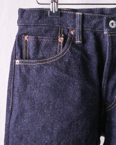 ONI-246 22oz Regular Straight  Natural Indigo KABUKI MIMI