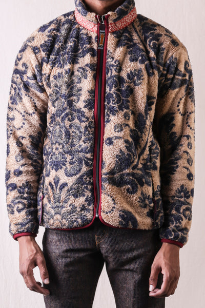DAMASK Fleece ZIP Blouson