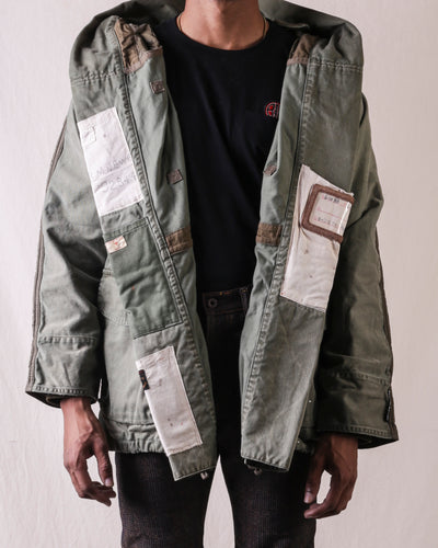 KOUNTRY Chino x Nylon Quilting BIVOUAC Ring Coat (Journey Remake)