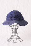 US Navy Hat in Denim One Wash