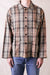 Hunting Shirt Plaid Twill - Khaki/Black
