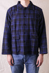 Hunting Shirt Plaid Twill - Blue/Black