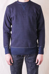 Indigo Dyed Sweat Shirt