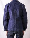 Indigo Dyed Duck Jacket