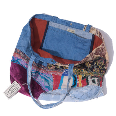 Kountry Denim Patchwork Tote Bag Large (Psyche)
